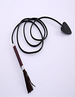 Altri accessori Ispirato da Fairy Tail Lucy Heartfilia Anime Accessori Cosplay Coda Nero Cuoio Uomo / Donna