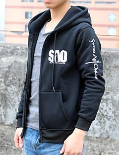 Inspired by Sword Art Online Cosplay Anime Cosplay Costumes Cosplay Hoodies Print Black Long Sleeve Top / More Accessories