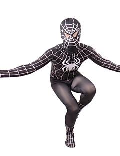 Hämähäkkimies Cosplay-asut Musta Elokuva Cosplay-asut Trikoot Lycra Uros