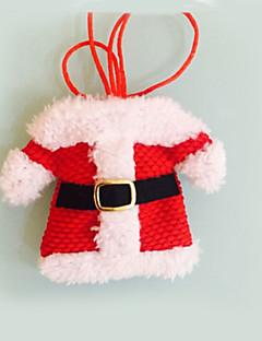 2 stk julepynt glade santa sølvtøj indehavere lommer middag indretning Festas