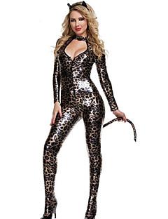 Women's Leopard Colour Sexy Catsuit Fancy Costume
