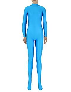 Zentai kombinézy Morphsuit Ninja Zentai Cosplay kostýmy Modrá Jednobarevné Leotard/Kostýmový overal Zentai Spandex Lycra UnisexHalloween