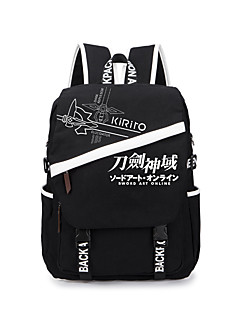 Bolsa Inspirado por Sword Art Online Fantasias Anime Acessórios para Cosplay Bolsa mochila Lona Masculino Feminino