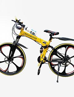 """jindie ™ 21 velocità da 26 """"a 5 razze in mountain bike ruota piegatrice ciclismo"""