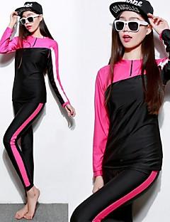 Mulheres Roupas de mergulho Mergulho Skins Wetsuits completos Impermeável Resistente Raios Ultravioleta Corpo Inteiro SuavidadeElastano