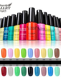 1pcs UV Gel Nagellack langlebige Nagelgels einweichen-off-Lampe LED-Fingerspitze Ballett Gelpoliermittel 12ml 31-40 Farben