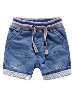Ensfarvet Drengens Jeans Sommer Øvrigt