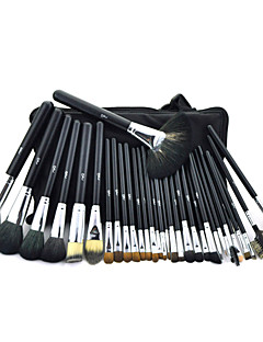 MSQ® 32pcs Makeup Brushes set Bristle/Goat/Mink/Pony/Horse/Weasel hair Professional Makeup Brush Hypoallergenic/Limits bacteria/Professional Brush