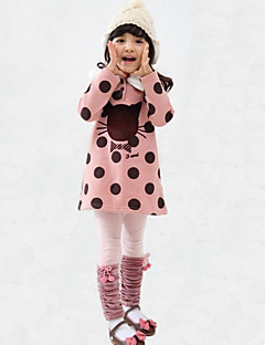 Girl's Casual/Daily Clothing Set,Rayon Winter / Fall Green / Orange / Pink