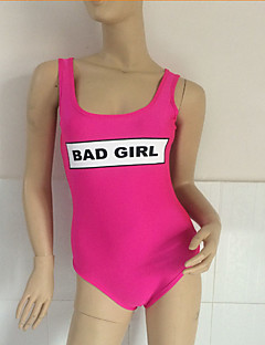 Bikinit-Uinti / Hiekkaranta-Nopea kuivuminen-Naisten koot-Vaaleanpunainen
