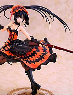 Date A Live Kurumi Tokisaki PVC 23cm Anime Action Figures Model Toys Doll Toy 1PC