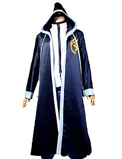 Inspirovaný Fairy Tail Gerard Fernandes Anime Cosplay kostýmy Cosplay šaty Patchwork Niebieski Dlouhé rukávy Přehoz / Trička
