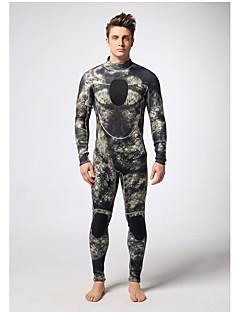 MYLEGEND® Men's 3mm Drysuits Waterproof Thermal / Warm Wearable YKK Zipper Neoprene Diving Suit Diving Suits-Swimming DivingSpring Summer