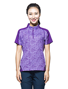 KORAMAN Women's Summer Outdoor Short Sleeve T-shirt Quick-dry Unti-UV