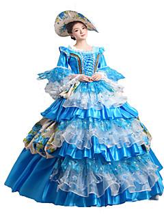 steampunk®classic 18 ° secolo Maria Antonietta abito ispirato blu vestito vittoriano vestito del partito di Halloween