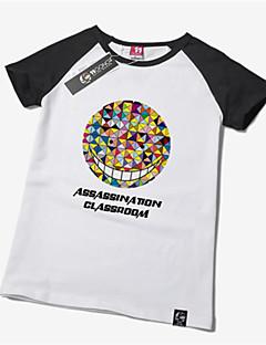 geinspireerd door Assassination Classroom Korosensei Anime Cosplay Kostuums Cosplay T-shirt Print  Geel Korte mouw T-Shirt