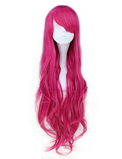Lolita Wigs Classic/Traditional Lolita Lolita Long Pink Lolita Wig 85 CM Cosplay Wigs Solid Wig For Women