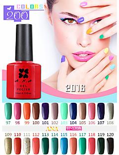 1 Stück ana 192 Farben gelpolish Nagelkunst tränken weg vom UV-Nagelgelpoliermittel 10ml 97-100
