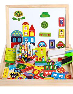 la nouvelle dpell magnétique dpell joie, vhildren de eooden puzzle, bébé apprentissage jouets éducatifs-la ferme heureuse