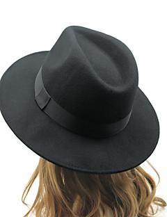ユニセックス コットン フェドーラ帽,ヴィンテージ / カジュアル オールシーズン