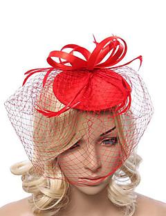 Stof / Net Vrouwen Helm Speciale gelegenheden Fascinators Speciale gelegenheden 1 Stuk