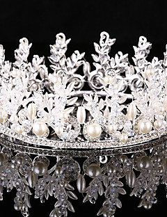 Women's Rhinestone / Alloy / Imitation Pearl Headpiece-Wedding / Special Occasion / Outdoor Tiaras 1 Piece