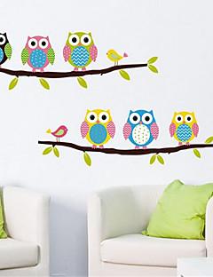 Tiere / Stillleben / Mode / Freizeit Wand-Sticker Flugzeug-Wand Sticker,PVC 54*35*0.1