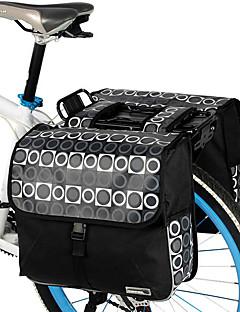 ROSWHEEL® Bike Bag 28LPanniers & Rack Trunk / Shoulder Bag Waterproof / Shockproof / Wearable Bicycle Bag PVC / 600D Polyester Cycle Bag