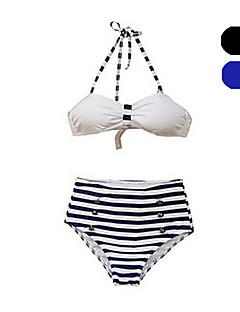 Damen Bikinis - Hochgeschnitten / Retro Nylon / Elasthan Halfter