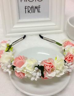 Women's Alloy / Foam Headpiece-Wedding / Special Occasion Headbands 1 Piece