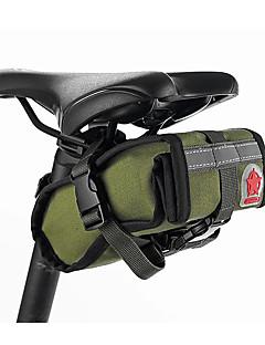 ROSWHEEL® Cyklistická taškaBrašna na sedlo Voděodolný / Odolné vůči šokům / Nositelný / Multifunkční Taška na kolo Plátno / LátkaTaška na