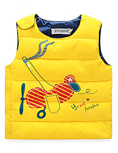 Boy's Casual/Daily Print Tank & Cami,Cotton / Polyester Winter / Fall Blue / Green / Pink / Red / Yellow