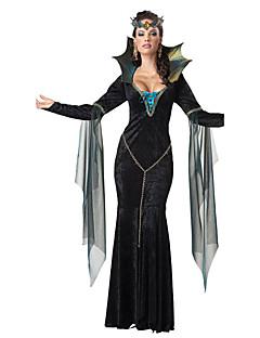 Cosplay-Asut Vampyyri Elokuva Cosplay Musta Leninki Halloween Joulu Uusi vuosi Naiset