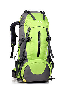 45 L Backpack / Hiking & Backpacking Pack Camping & Hiking Outdoor Multifunctional Green / Black / Blue YWJJF®