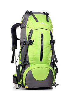 45 L rygsæk / Rygsæk pakker Campering & Vandring Udendørs Multifunktionel Grøn / Sort / Blå YWJJF®