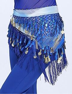 Dámské-Břišní tanec-Pásek(Jablkově zelená / Fuchsiová / Oranžová / Fialová / Červená / Královská modrá / Žlutá / Jezerní modrá,Polyester,