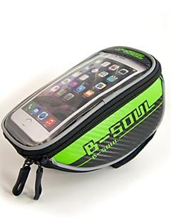B-SOUL® Saco da bicicleta 1.5LLBolsa para Guidão de Bicicleta / Bolsa Celular / Bolsa para Quadro de BicicletaÁ Prova-de-Água / Zíper á