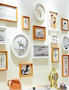 photo wall picture Frames Retro Rectangular,Plastic 1set Medium