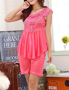 Women Polyester Pajama Set