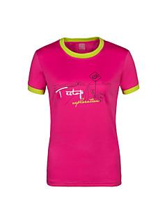 Overige Dames / Heren Sneldrogend Recreatiesport Kleding Bovenlichaam / T-shirtGeel / Groen / Rood / Grijs / Licht Grijs / Donker Blauw /