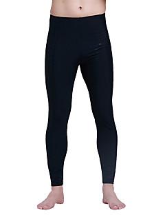 男性用 高通気性 ビデオ圧縮 軽量素材 ナイロン 潜水服 スイムウェア ボトムズ-水泳