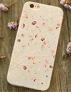 Für Stoßresistent Hülle Rückseitenabdeckung Hülle Blume Weich TPU Apple iPhone 6s Plus/6 Plus / iPhone 6s/6 / iPhone SE/5s/5