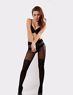 BONAS® Einheitliche Farbe Dünn Legging-6528