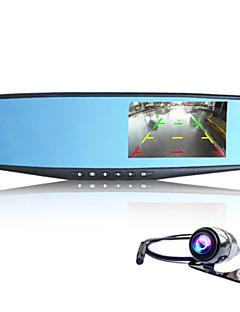Full HD / Video kimenet / G-szenzor / Mozgásérzékelő / Nagylátószögű / 1080P / Állókép rögzítés - 5.0 MP CMOS - 2048 x 1536 - CAR DVD