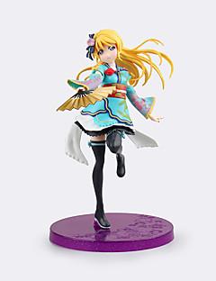 Anime Čísla akce Inspirovaný Love Live Eri Ayase PVC 17 CM Stavebnice Doll Toy