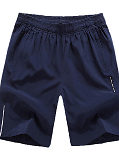 Running Baggy shorts Men's Breathable / Comfortable Polyester Running Sports Inelastic Loose Outdoor clothing