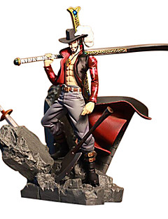 One Piece Dracula Mihawk PVC 15CM Anime Action Figures Model Toys Doll Toy