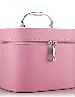 # Damen PU Kosmetik Tasche Weiß / Rosa / Blau / Schwarz-MLGAF050002N