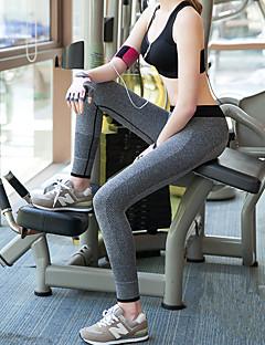 Damen Legging - Einfarbig Polyester / Elasthan
