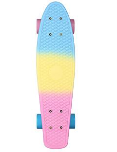 Cruisers Skateboard Professionelt Aluminiumslegering Orange Unisex Adult 22 tommer (ca. 56cm)